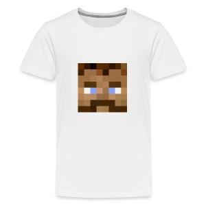 Fjeset - Premium T-skjorte for tenåringer