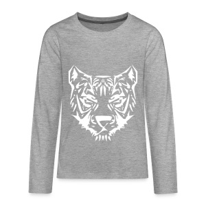 Tiger - Teenager Premium shirt met lange mouwen