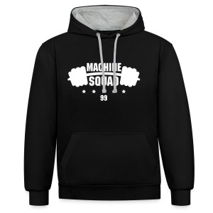 MACHINE SQUAD Tank top - Contrast hoodie