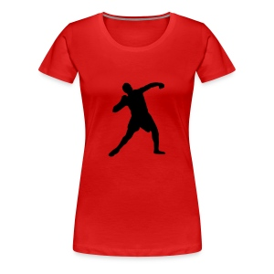 shot put - track and field Tee shirts - T-shirt Premium Femme
