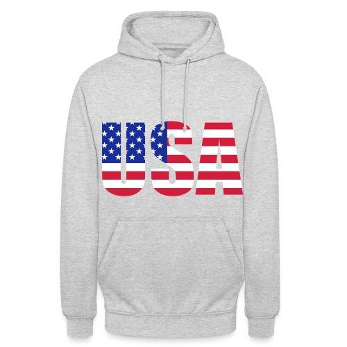 Unisex USA Hoodie - Unisex Hoodie