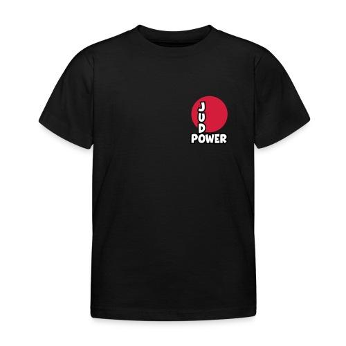 Judo-Power Logo Pur - Kinder T-Shirt