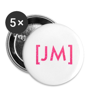 Glitter Badges - Buttons large 56 mm