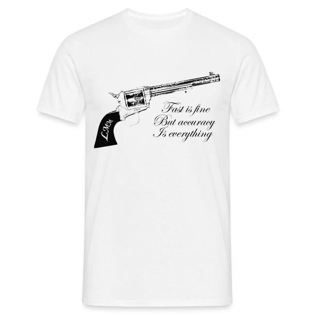 """T-shirt homme blanc """"Wyatt Earp"""""""