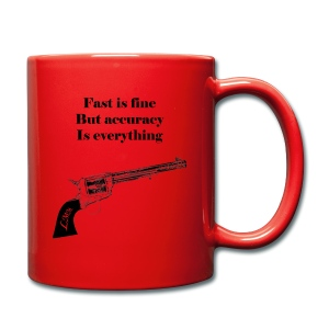 Mug rouge Wyatt Earp - Tasse en couleur