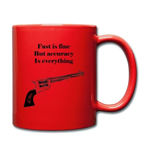 Mug rouge Wyatt Earp - Mug uni