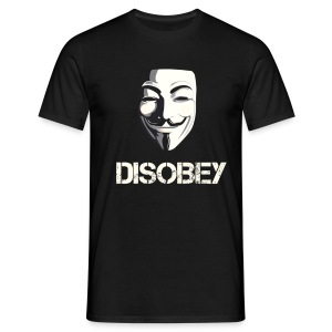 DISOBEY T-Shirt MEN - Men's T-Shirt