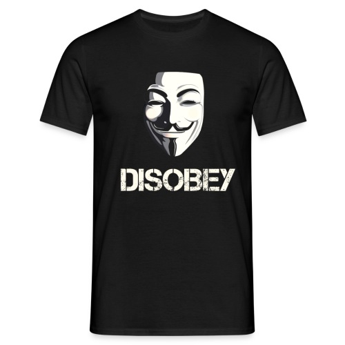 DISOBEY T-Shirt MEN - Mannen T-shirt