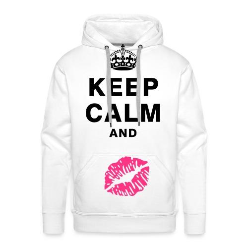 Keep calm Hoodie - Men's Premium Hoodie