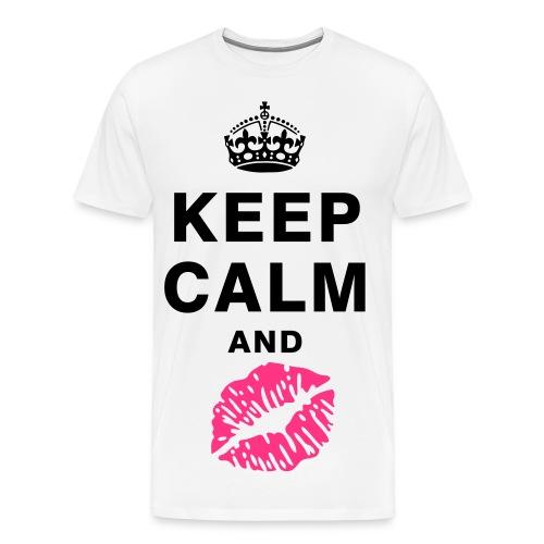 Keep calm tshirt - Men's Premium T-Shirt