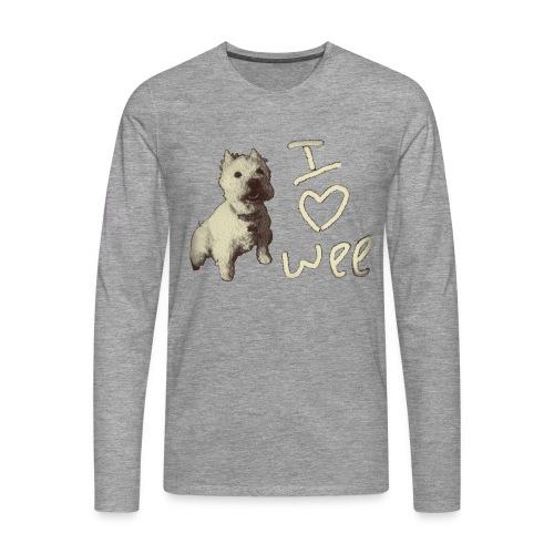 Wee Westie for Him - Men's Premium Longsleeve Shirt