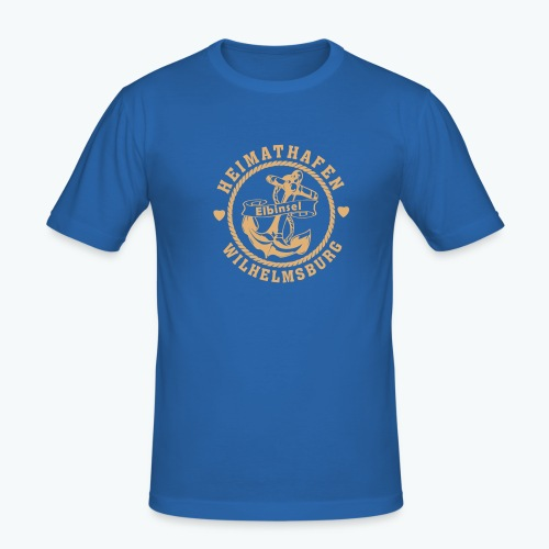 T-Shirt Heimathafen SAND - Männer Slim Fit T-Shirt