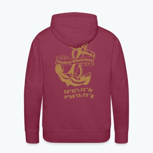 Kapuzen-Sweater ANKER - Männer Premium Hoodie