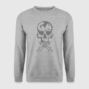 tete de mort no seringue drogue crane Sweat-shirts - Sweat-shirt Homme
