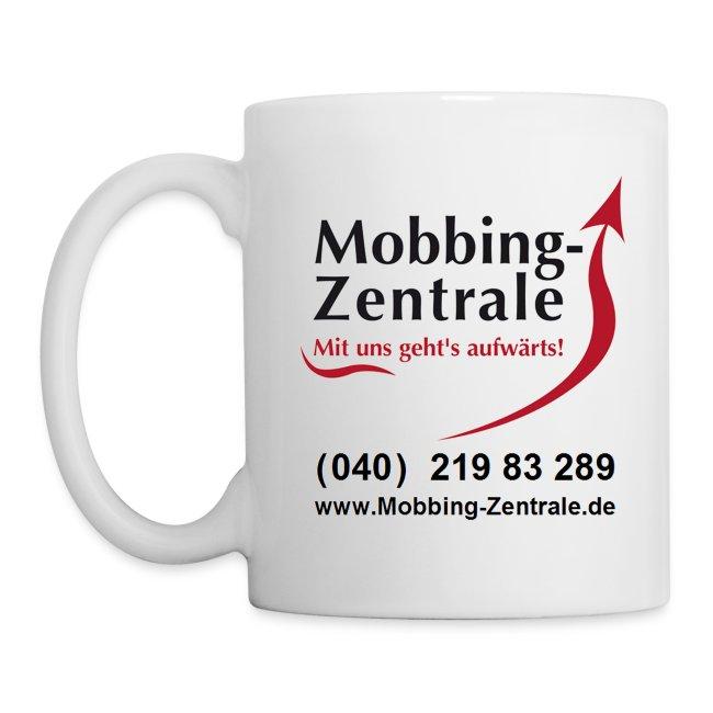 Becher Mobbing-Zentrale