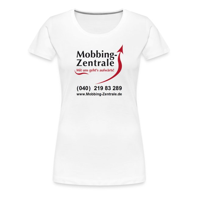 T-Shirt  Premium - Frauen - 2 LOGOs