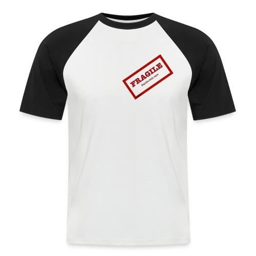 Fragil - Camiseta béisbol manga corta hombre
