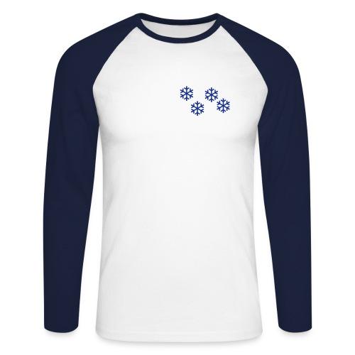 Long´sleeve  Kristall - Männer Baseballshirt langarm