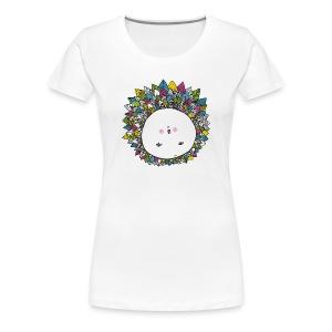 La bouille d'hérisson - T-shirt Premium Femme