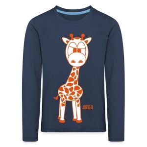 Raffe shirt lange mouwen - Kinderen Premium shirt met lange mouwen