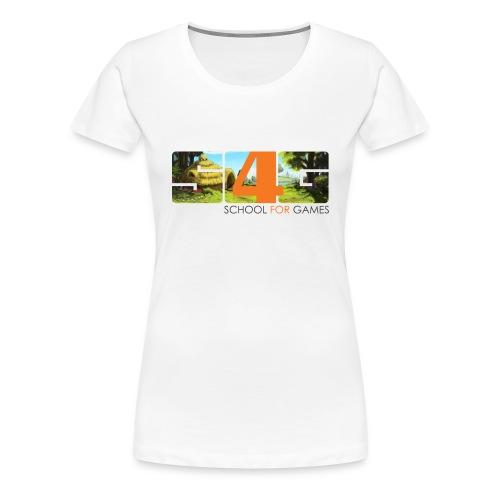 Faun´s Trial T-Shirts Girl - Frauen Premium T-Shirt