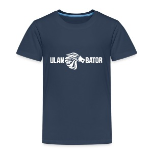 Ulan Bator Shirt For Kids - Kinder Premium T-Shirt