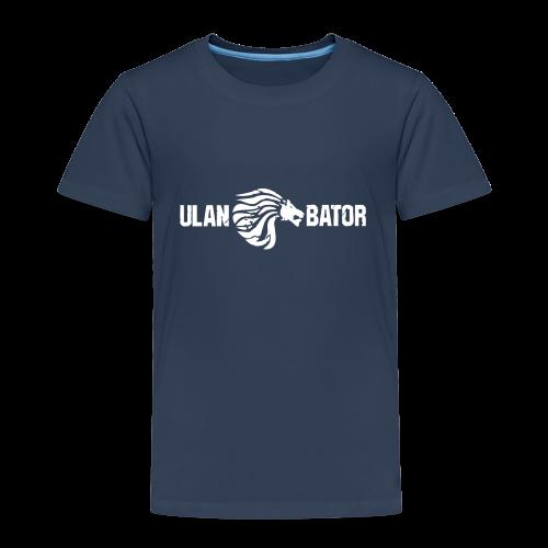 Ulan Bator Shirt For Kids - Kinder Premium T-Shirt