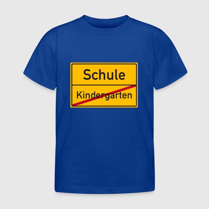 verkehrsschild schulanfang kindergarten schule t shirt. Black Bedroom Furniture Sets. Home Design Ideas