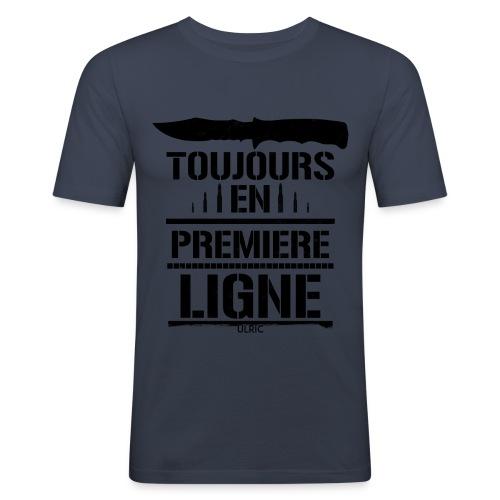 Première ligne - T-shirt près du corps Homme
