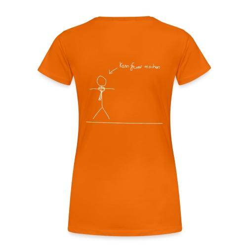 T-Shirt - Frauen - Feuer - O/W - Frauen Premium T-Shirt