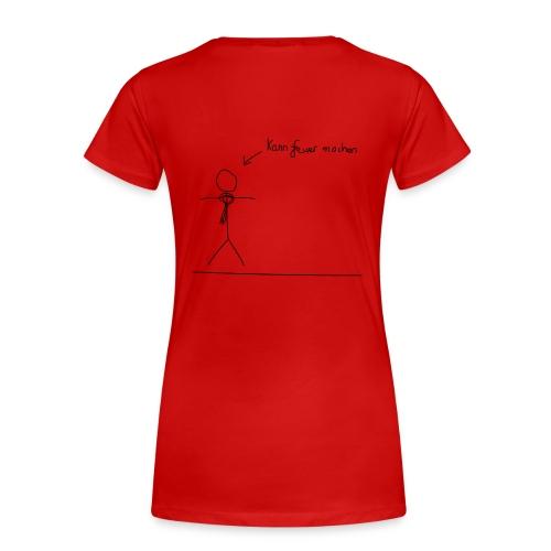 T-Shirt - Frauen - Feuer - R/S - Frauen Premium T-Shirt