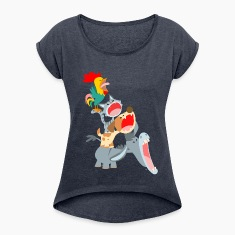 Bremen Town Musicians by Cheerful Madness!! T-Shirts