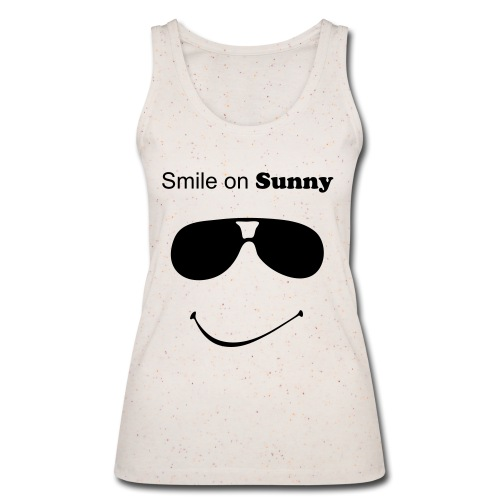 Top gelb smile on - Frauen Bio Tank Top von Stanley & Stella