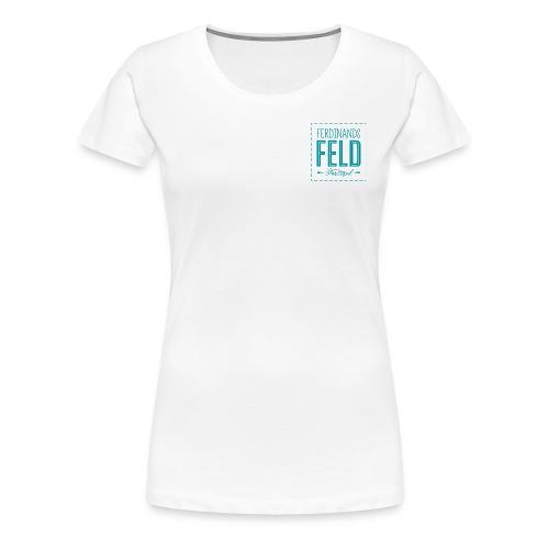 Ferdis Damen T-Shirt beidseitiger Print - Frauen Premium T-Shirt
