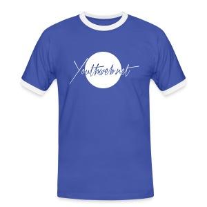 CLASSIC MAN STYLE - Männer Kontrast-T-Shirt