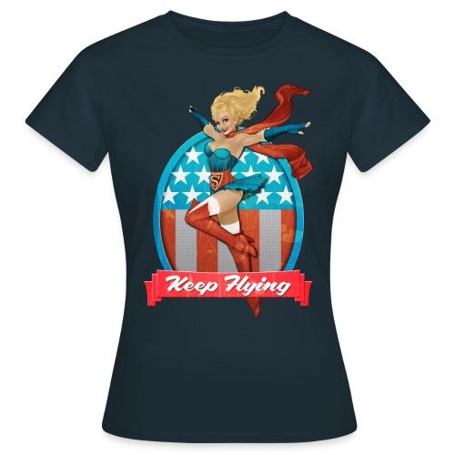 Bombshells Supergirl Frauen T-Shirt - Frauen T-Shirt