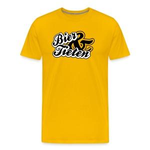 Bier & Tieten T-shirt - Mannen Premium T-shirt