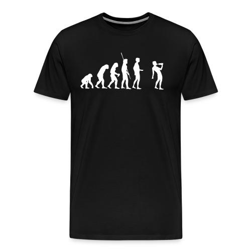 Evolutie T-shirt - Mannen Premium T-shirt