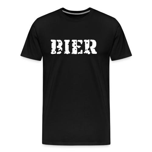 Bier T-shirt - Mannen Premium T-shirt