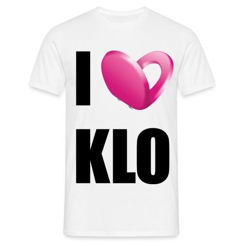 I Love Klo - Männer T-Shirt