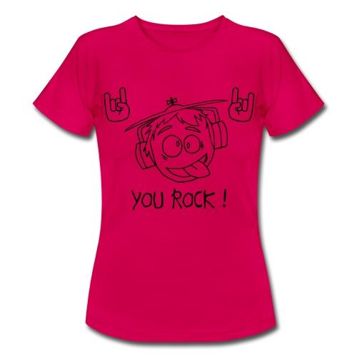 T-shirt You Rock Femme - T-shirt Femme