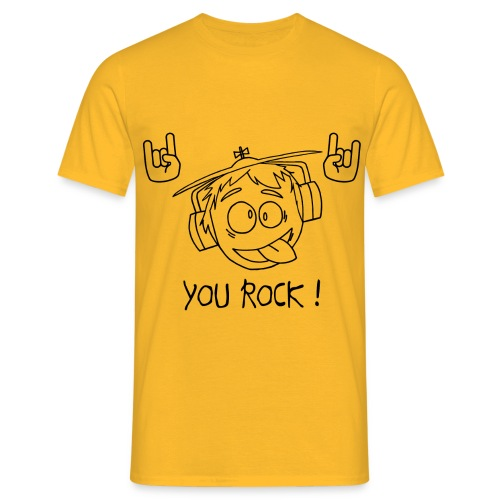 T-shirt You Rock Homme - T-shirt Homme