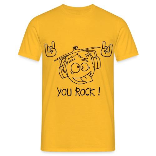 T-shirt You Rock Homme - T-shirt Homme