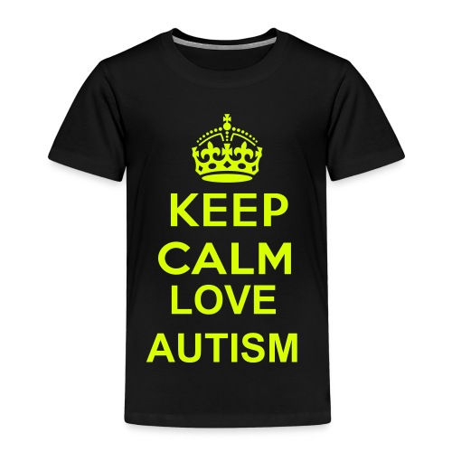 Keep calm love autisme  - Kinderen Premium T-shirt