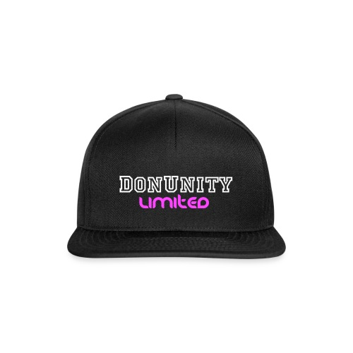 DonUnity Limited Girl Edition - Snapback Cap