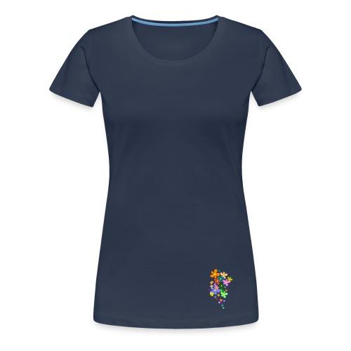 PURPLE - Dame T-shirt - Dame premium T-shirt