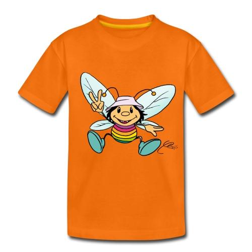 bunte Biene - Kinder Premium T-Shirt