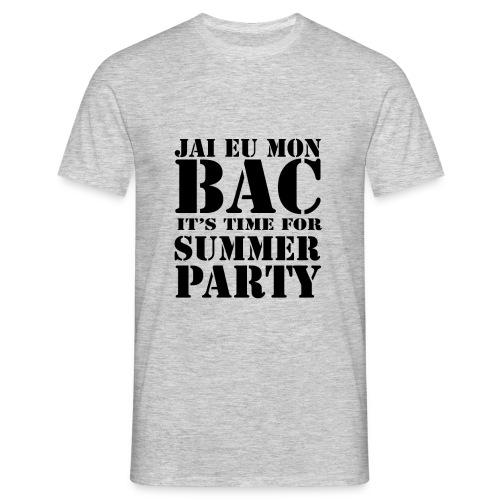 J'ai eu Mon BAC - T-shirt Homme