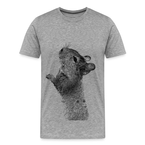 Neugierige Nase - Männer Premium T-Shirt