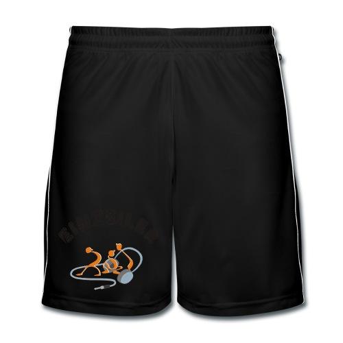 Einzeiler-Logo-Shorts - Männer Fußball-Shorts